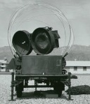 Early high power illuminator/tracker radar