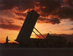 A THAAD Launcher